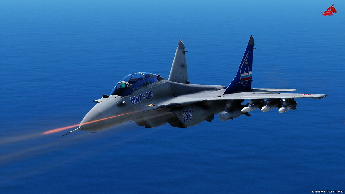 Mikoyan MiG-35 D [Add-on | HQ] 1.0 для GTA 5