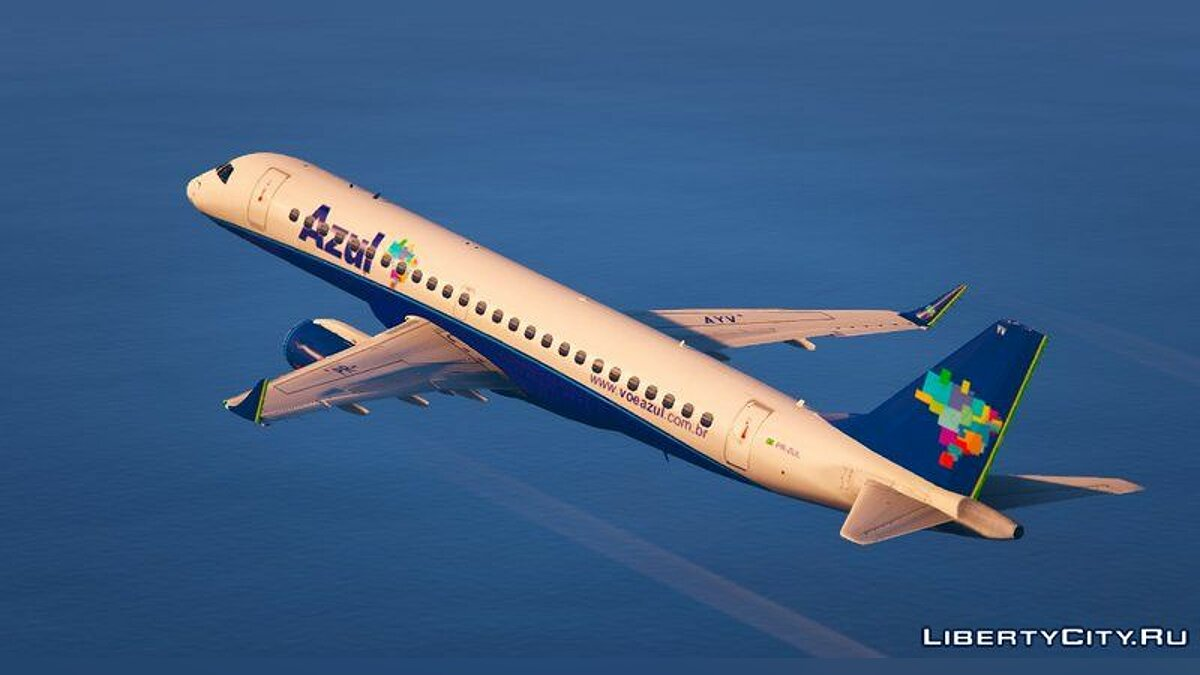 Embraer E Jets 190 [Replace] для GTA 5