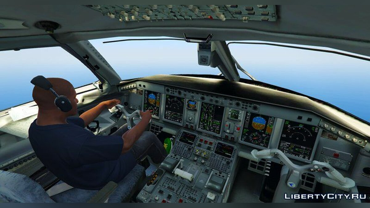 Embraer E Jets 190 [Replace] для GTA 5 - скриншот #4