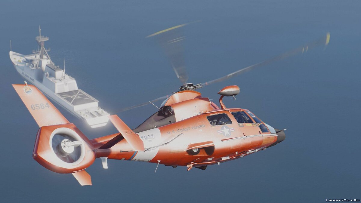 MH-65C Dolphin [Add-On | Multi-Livery] для GTA 5 - скриншот #10
