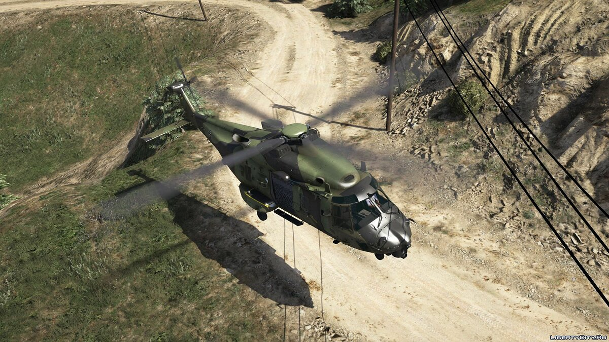 NH90 German Transport Helicopter [Add-On | Custom seat layout] 1.0 для GTA 5 - скриншот #9