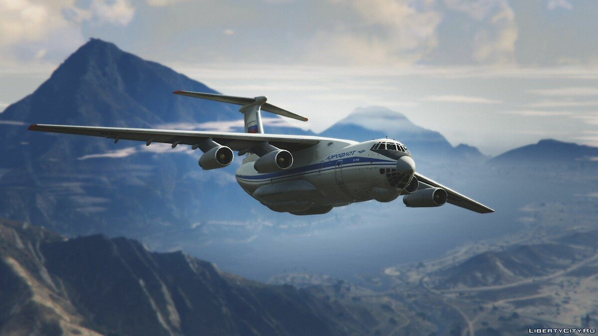 IL-76M [Add-On / Replace / Livery] v1.1 для GTA 5