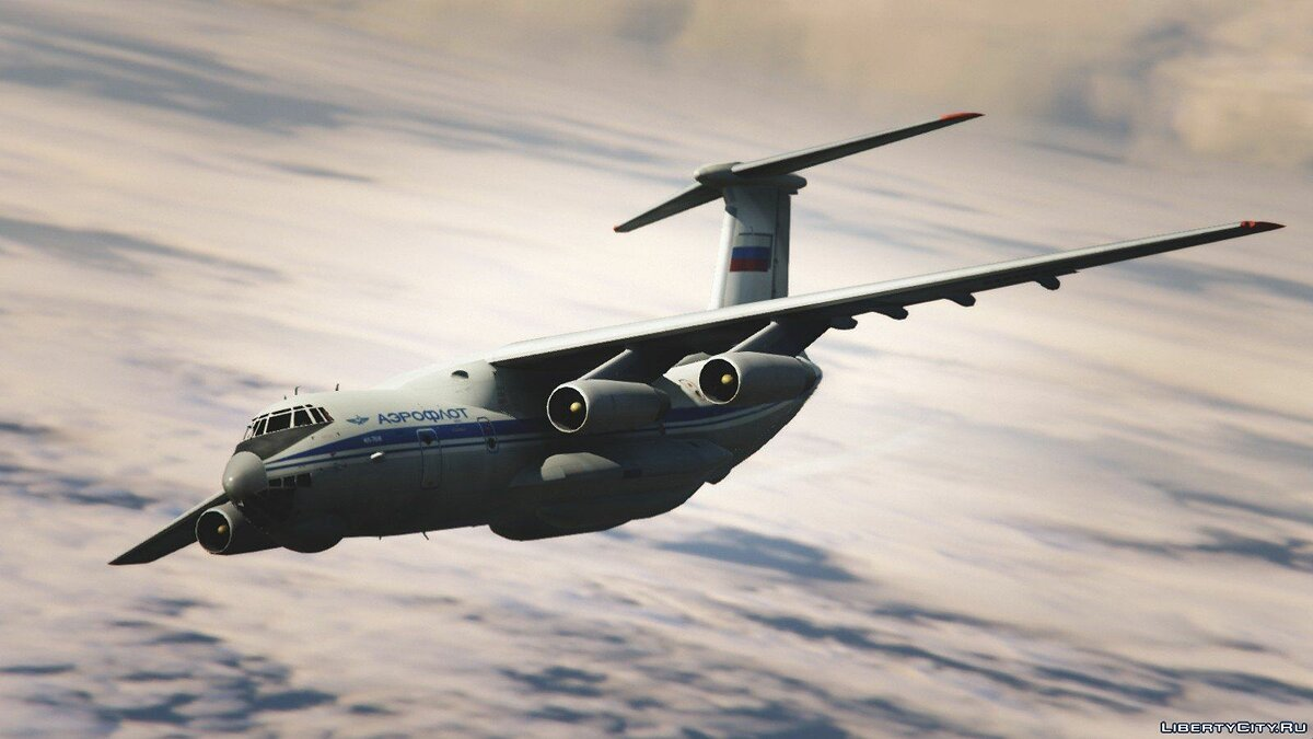 IL-76M [Add-On / Replace / Livery] v1.1 для GTA 5 - скриншот #4