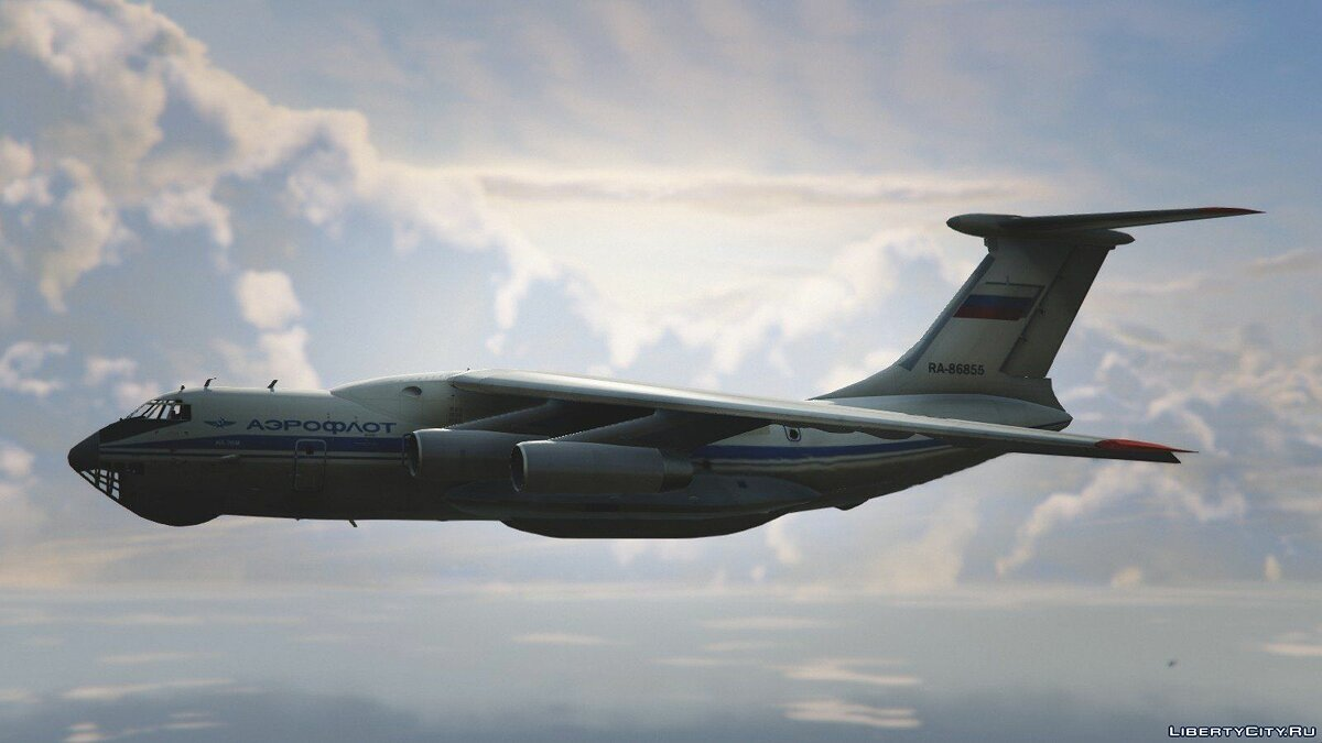 IL-76M [Add-On / Replace / Livery] v1.1 для GTA 5 - скриншот #5