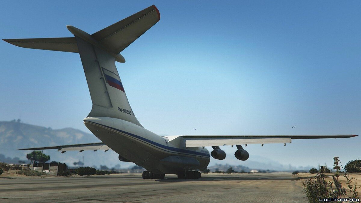 IL-76M [Add-On / Replace / Livery] v1.1 для GTA 5 - скриншот #6