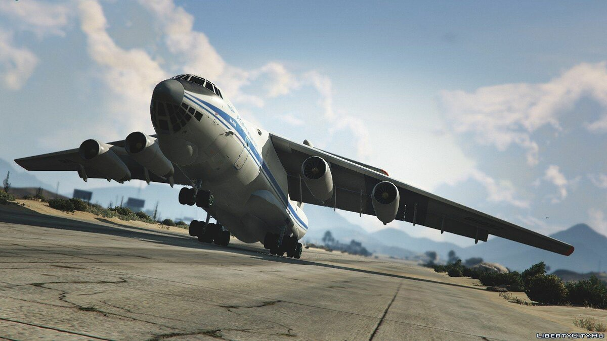 IL-76M [Add-On / Replace / Livery] v1.1 для GTA 5 - скриншот #7
