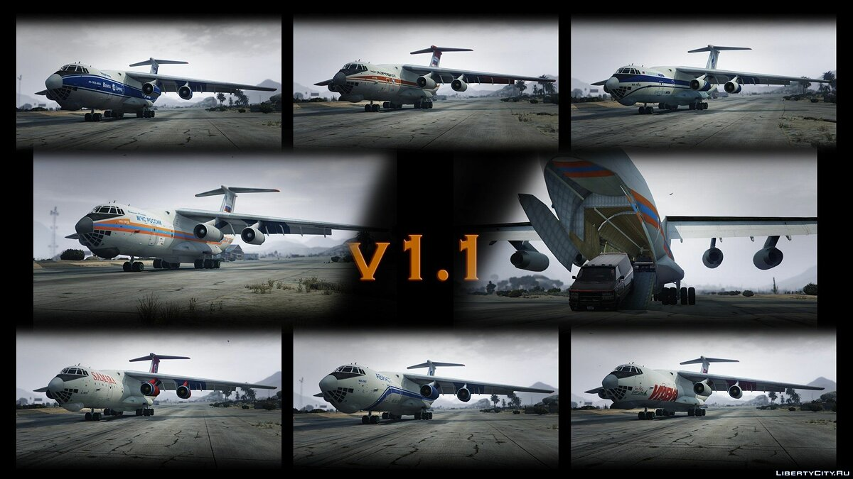 IL-76M [Add-On / Replace / Livery] v1.1 для GTA 5 - скриншот #10