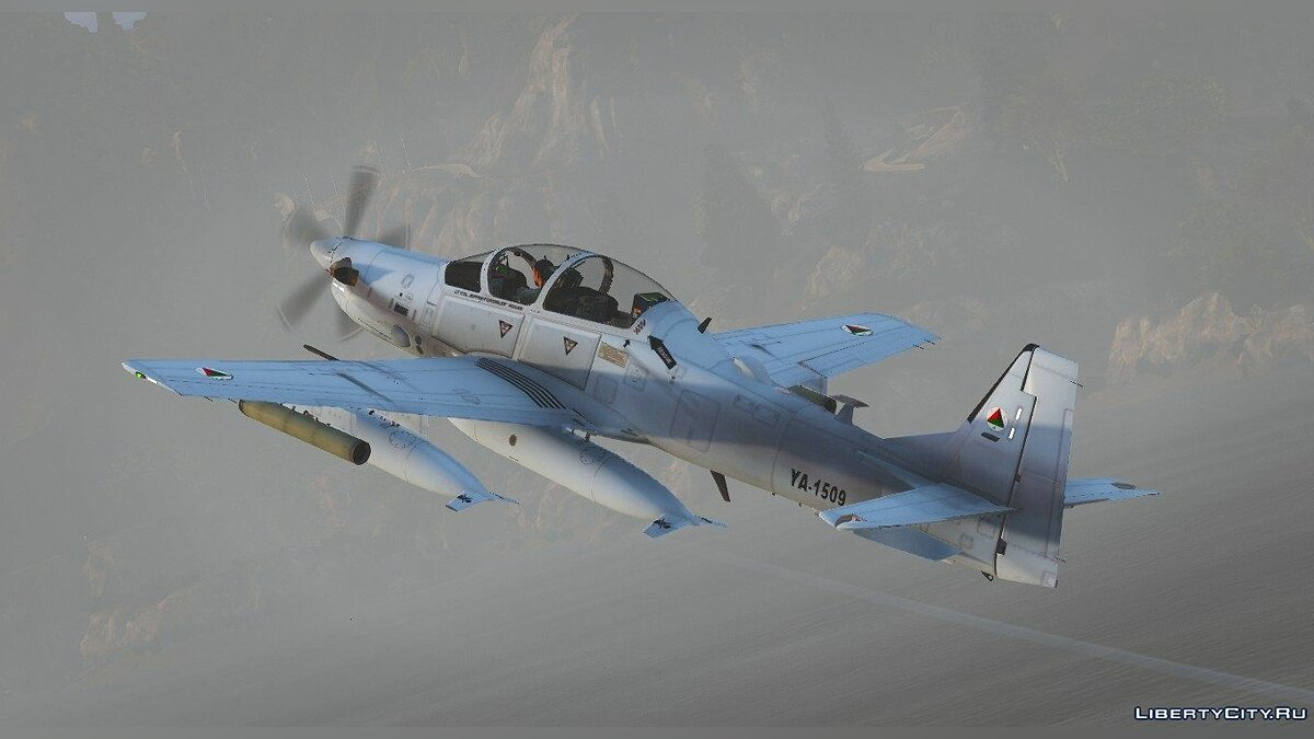 Embraer A-29B Super Tucano Afghanistan [Add-on] для GTA 5 - скриншот #4