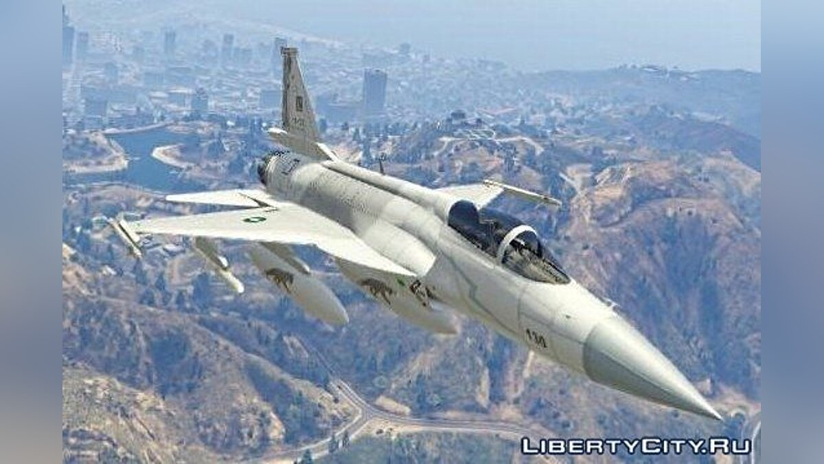 JF-17 Thunder Block 1 [Add-On / Replace] [Beta] для GTA 5