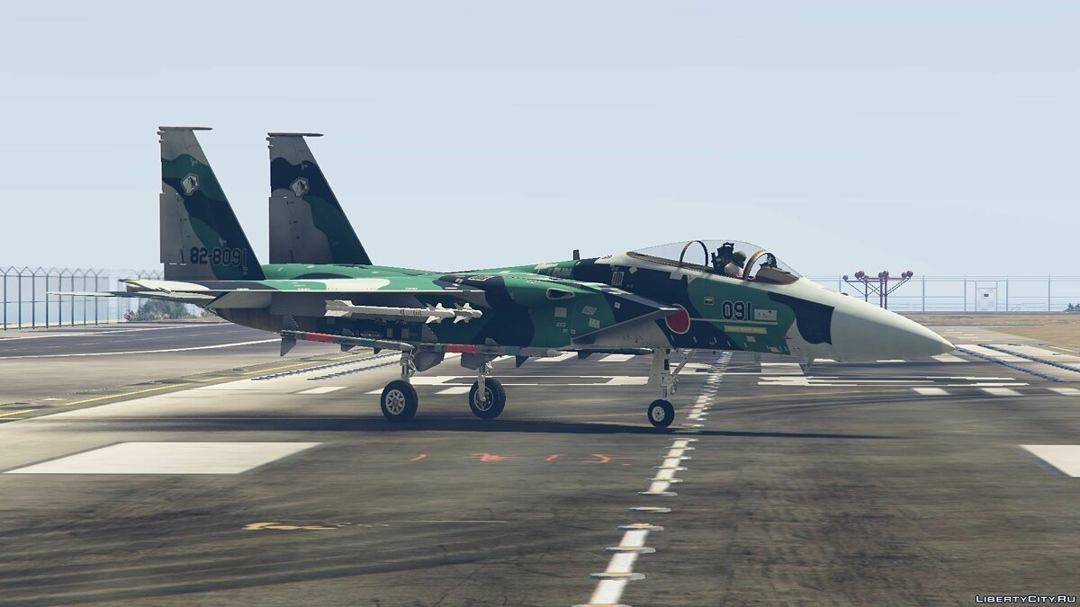 F-15J Eagle Japan Air Self Defense Force [Add-On / Replace] для GTA 5