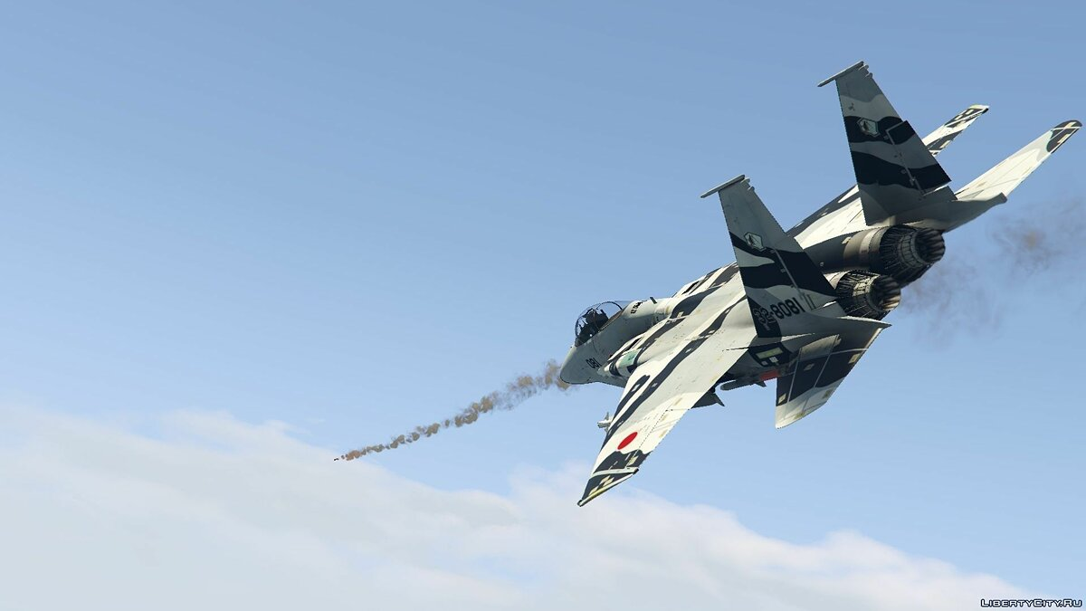 F-15J Eagle Japan Air Self Defense Force [Add-On / Replace] для GTA 5 - скриншот #2