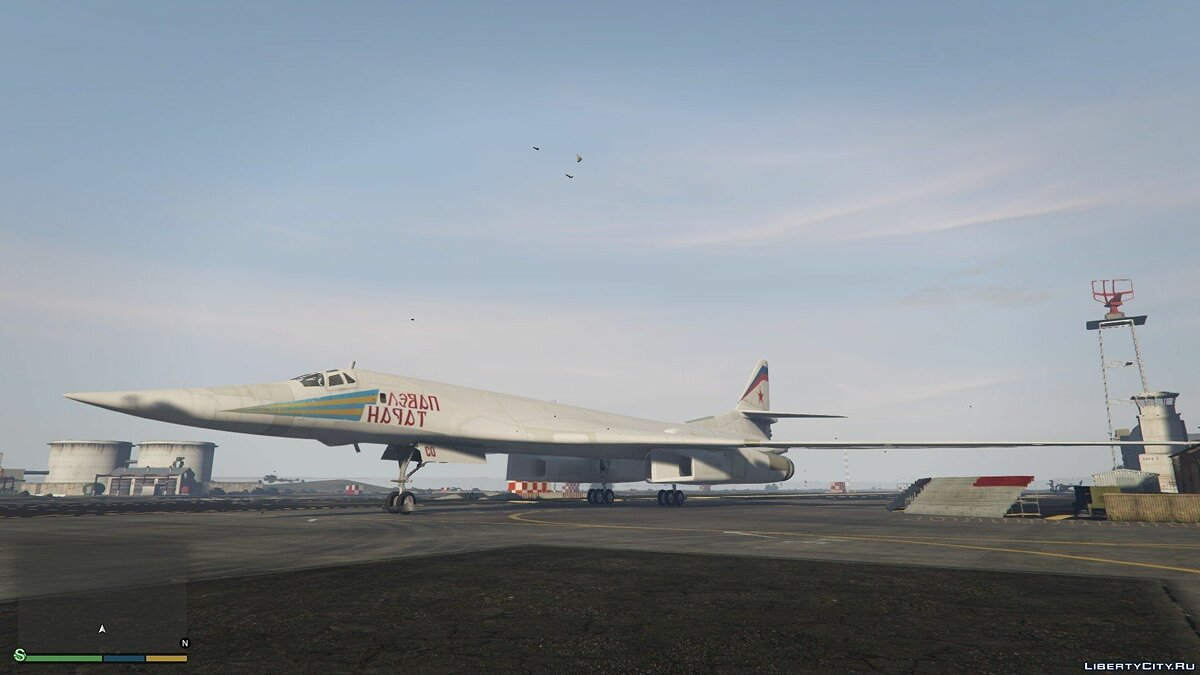 "Tu-160 ""White Swan"" [Add-on / Replace] 1.1 для GTA 5 - скриншот #3"