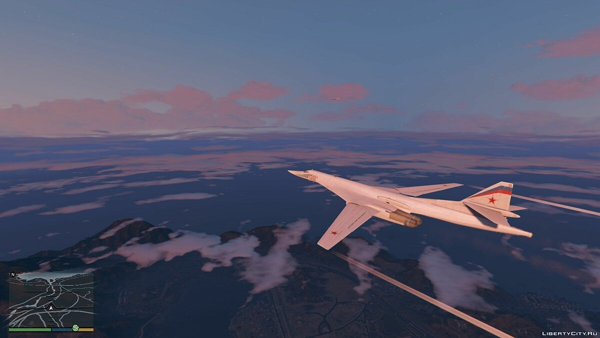 "Tu-160 ""White Swan"" [Add-on / Replace] 1.1 для GTA 5 - скриншот #2"