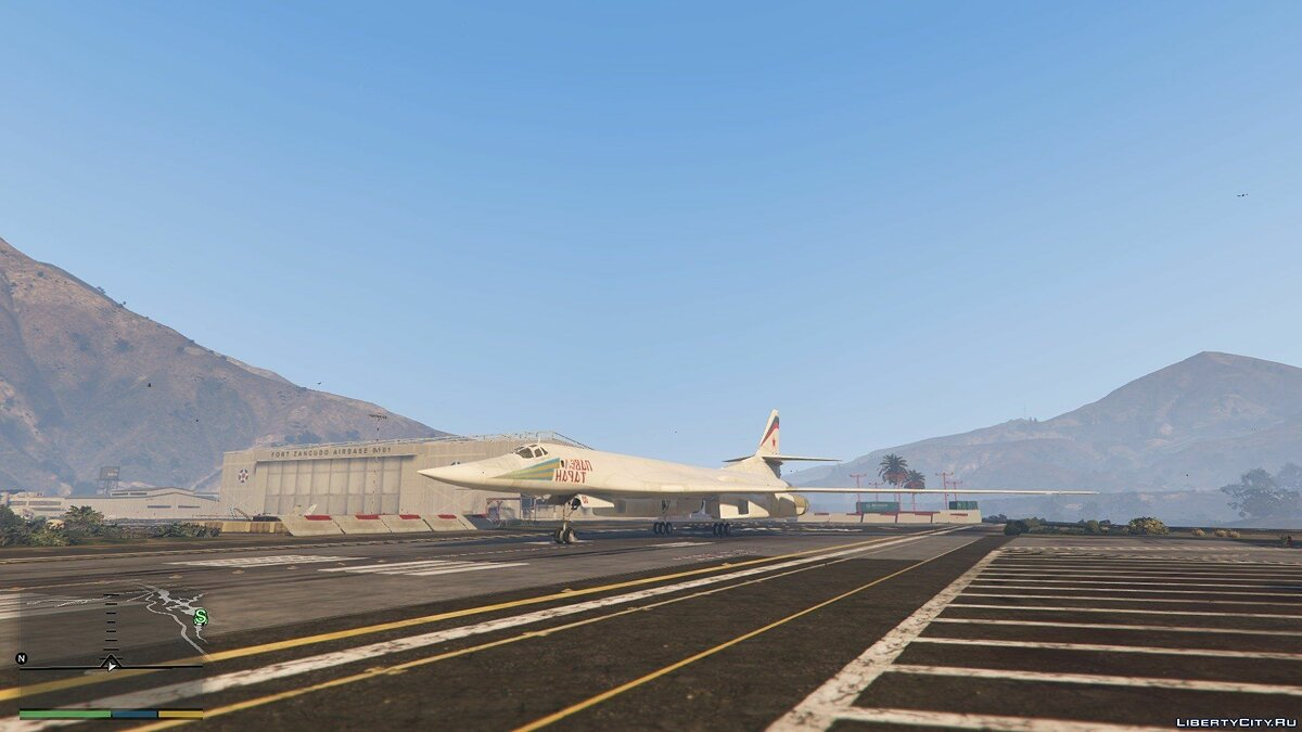"Tu-160 ""White Swan"" [Add-on / Replace] 1.1 для GTA 5 - скриншот #5"