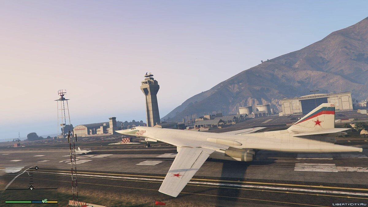 "Tu-160 ""White Swan"" [Add-on / Replace] 1.1 для GTA 5 - скриншот #6"