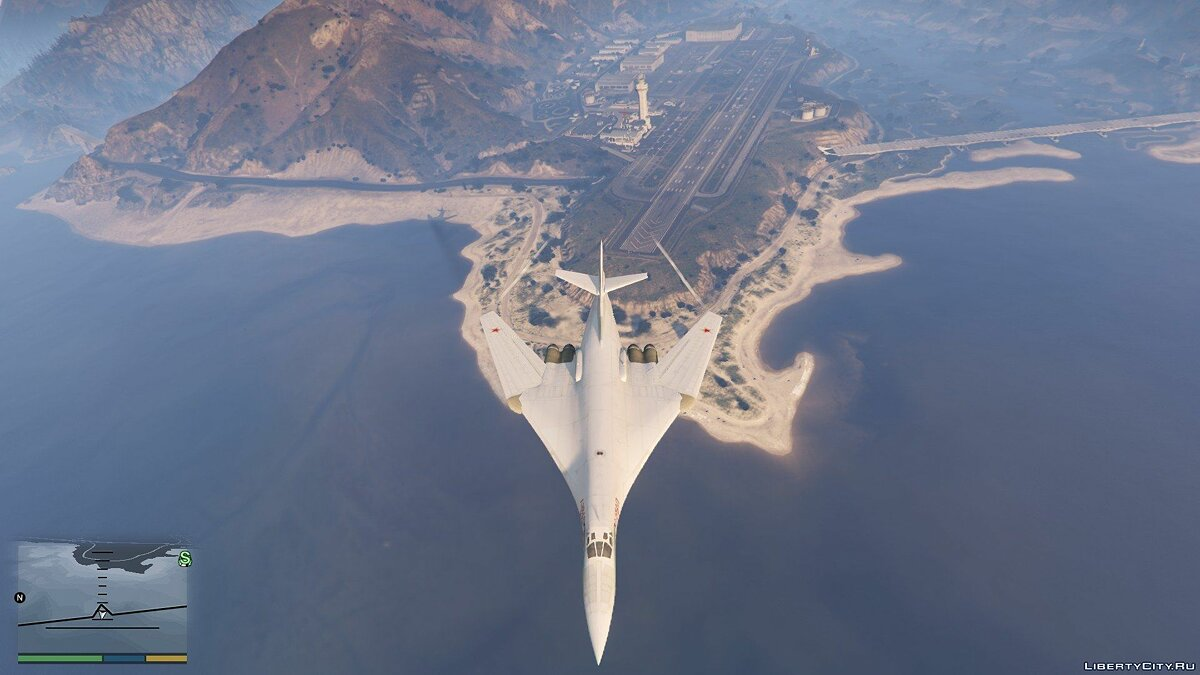 "Tu-160 ""White Swan"" [Add-on / Replace] 1.1 для GTA 5 - скриншот #9"