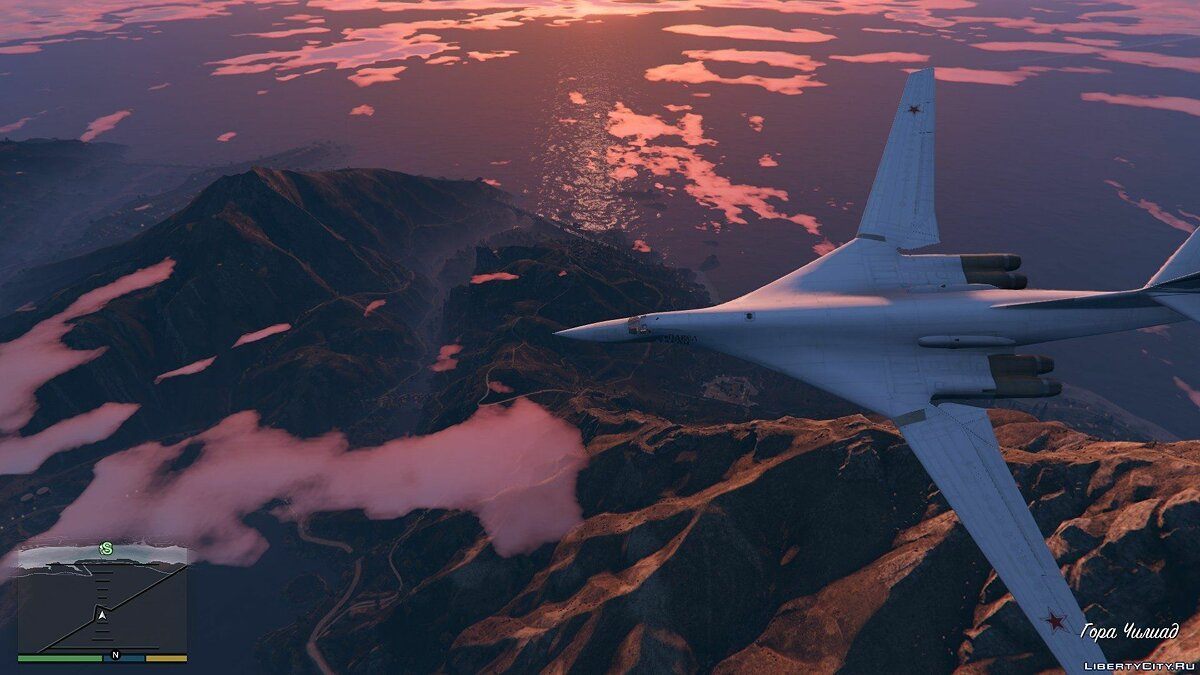 "Tu-160 ""White Swan"" [Add-on / Replace] 1.1 для GTA 5"