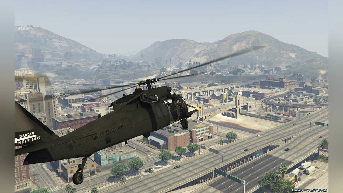 MH-60L Black Hawk v1.2 для GTA 5 - скриншот #2