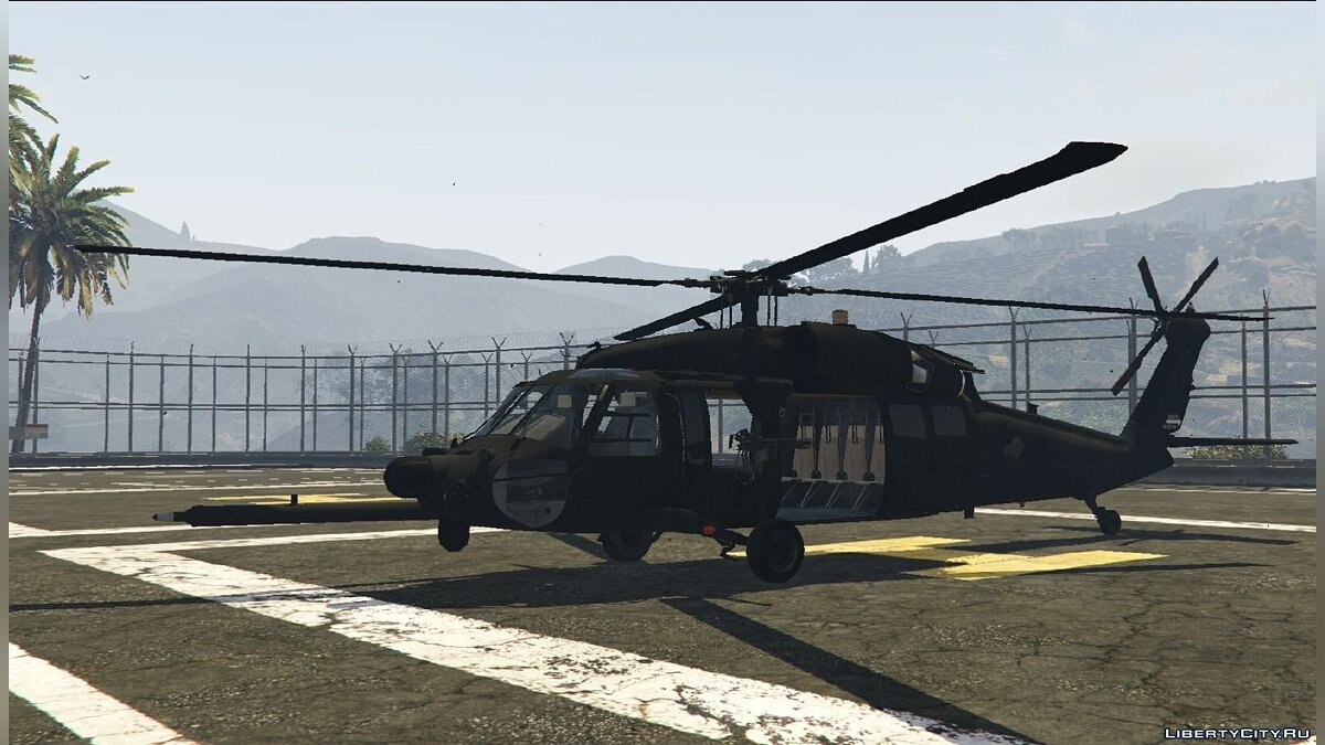 MH-60L Black Hawk v1.2 для GTA 5 - скриншот #4