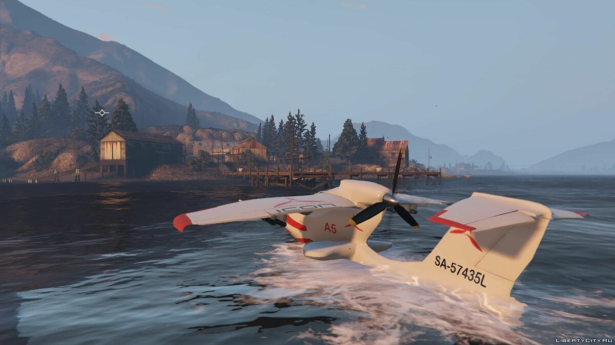 ��амолет и вертолет Icon A5 [+ Add-On] для GTA 5