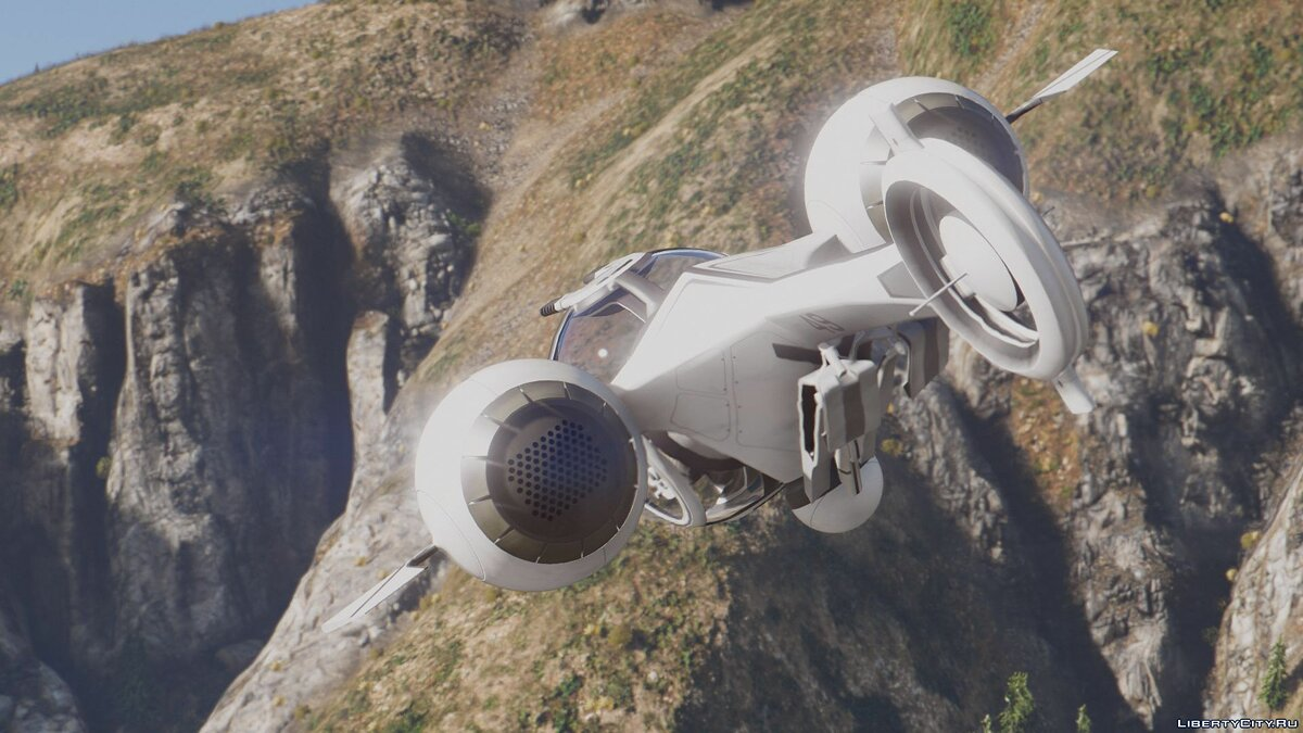 Bubbleship from the Movie Oblivion [Add-On] для GTA 5 - скриншот #3