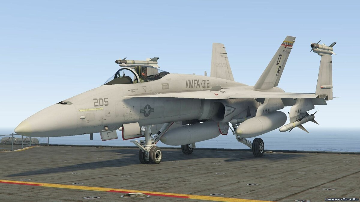 F/A-18C Hornet [Add-On / Replace] для GTA 5