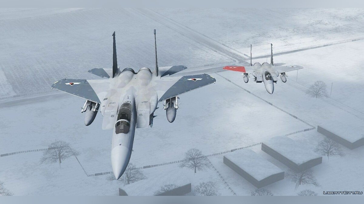 F-15C Eagle [Add-On] для GTA 5 - скриншот #3