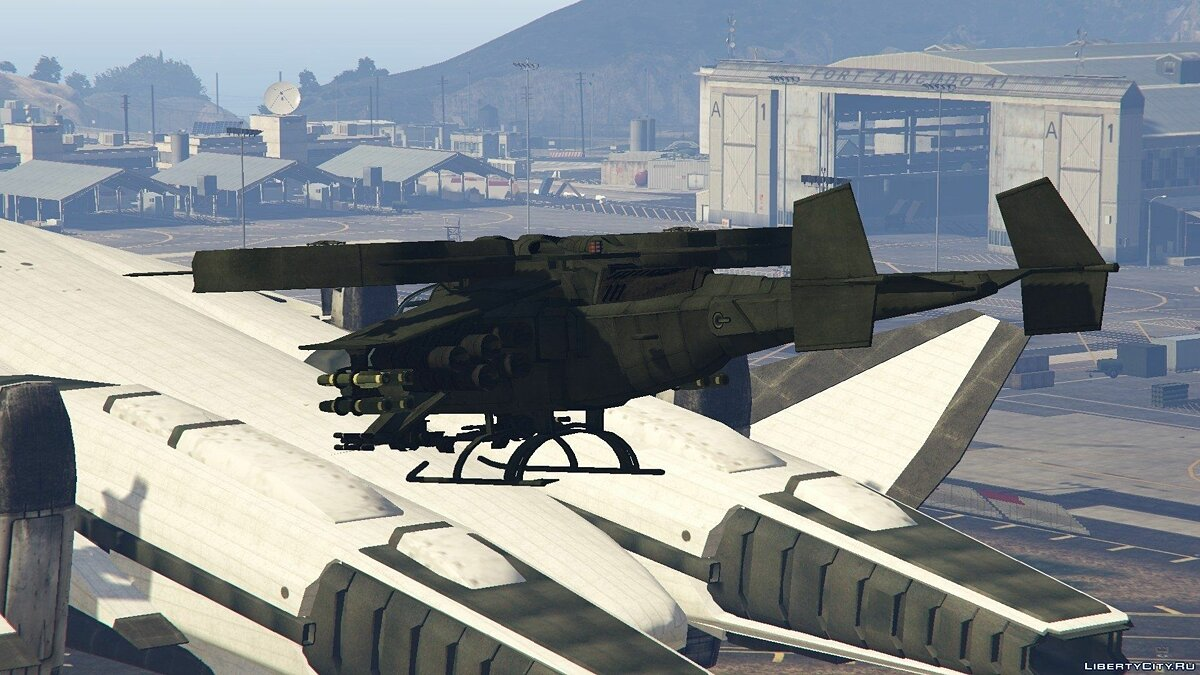 AT-99 Scorpion (from the movie Avatar) для GTA 5 - скриншот #2