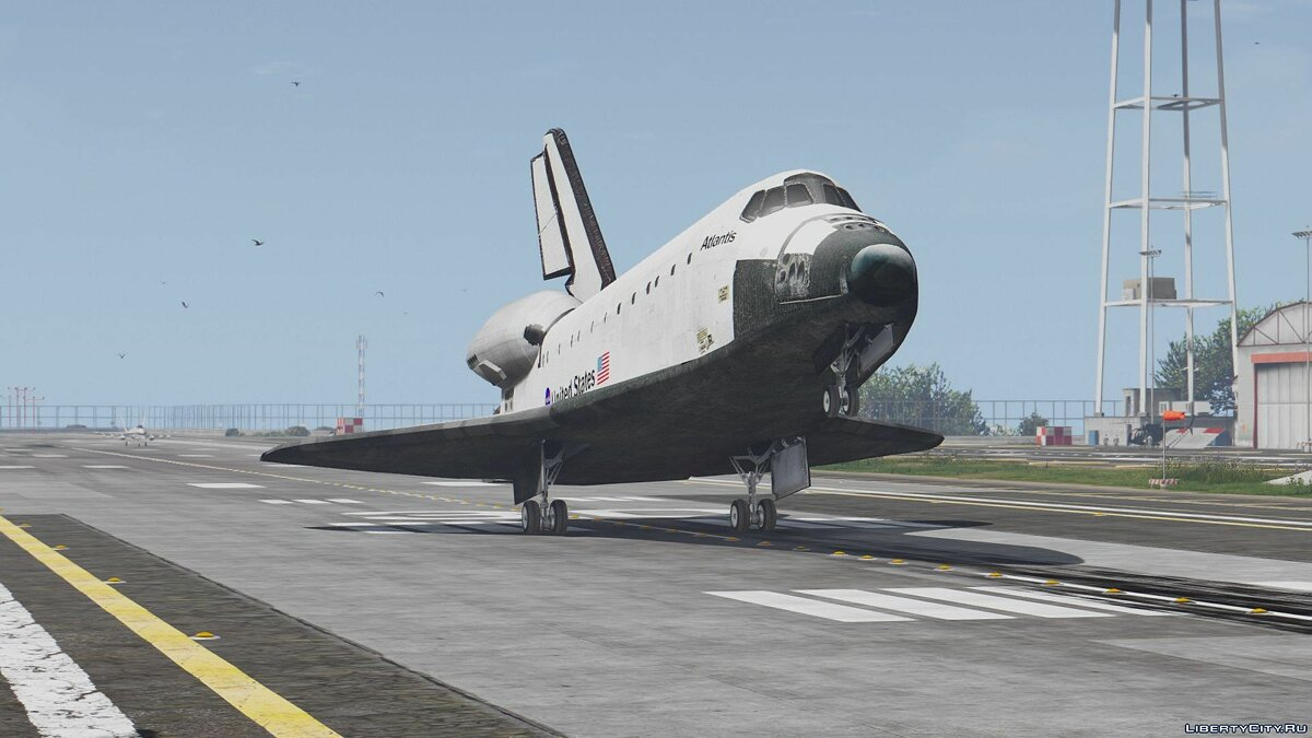 Space Shuttle NASA [Add-On | Standalone] 1.0 для GTA 5