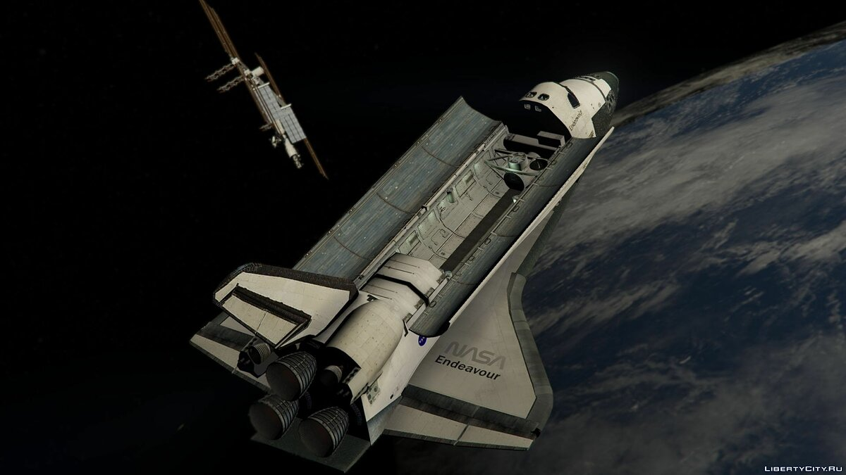 Space Shuttle NASA [Add-On | Standalone] 1.0 для GTA 5 - скриншот #2