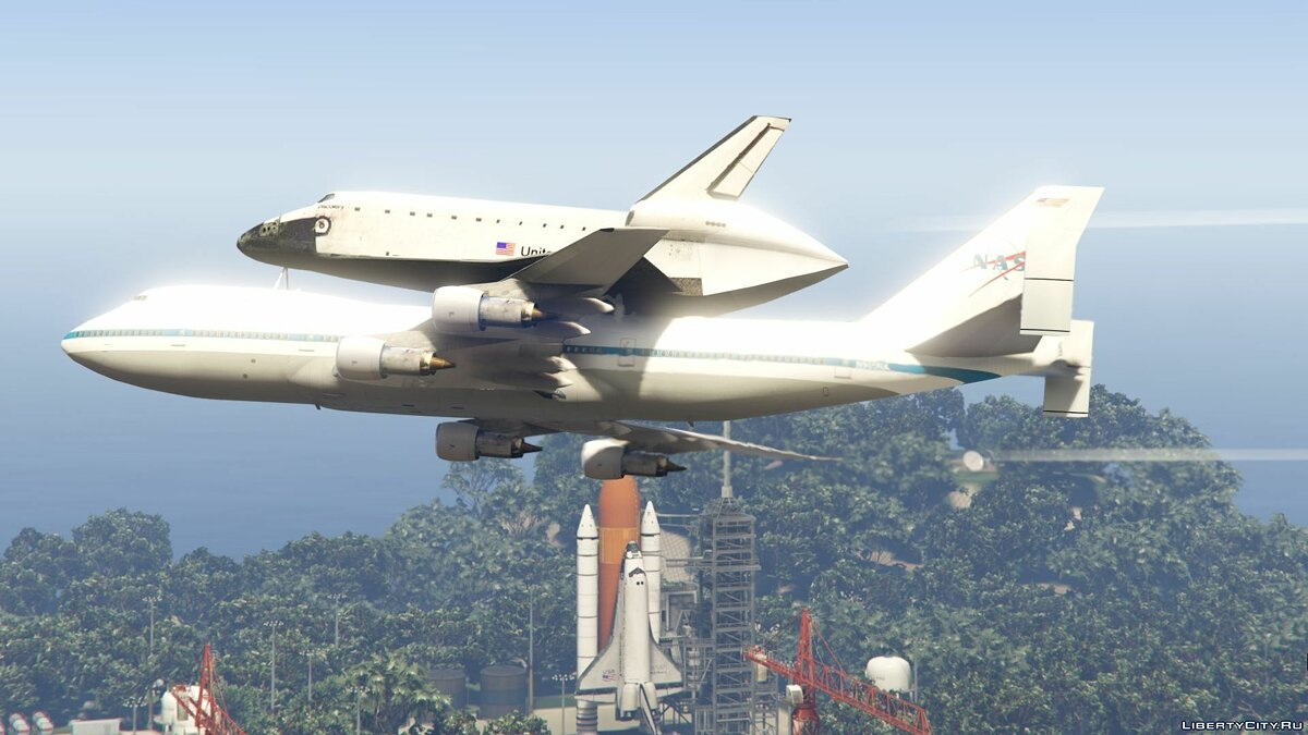 Space Shuttle NASA [Add-On | Standalone] 1.0 для GTA 5 - скриншот #12