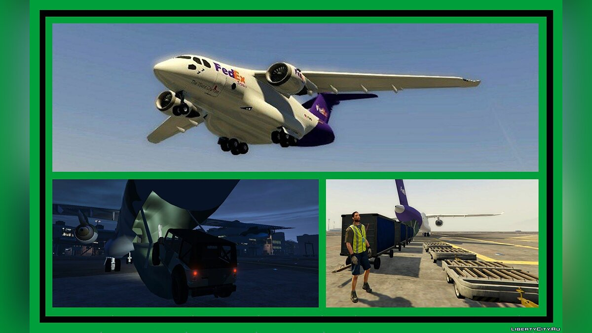 Aircrafts Pack: Passenger & Cargo (Add-On) 2.0 для GTA 5 - скриншот #5