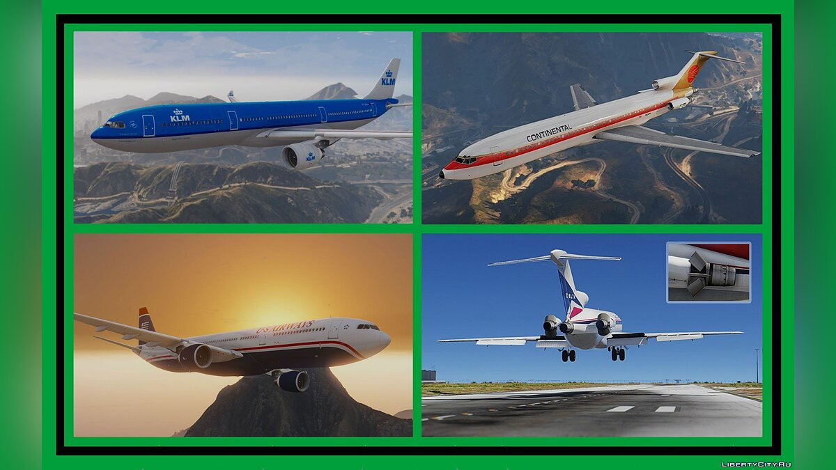 Aircrafts Pack: Passenger & Cargo (Add-On) 2.0 для GTA 5 - скриншот #4