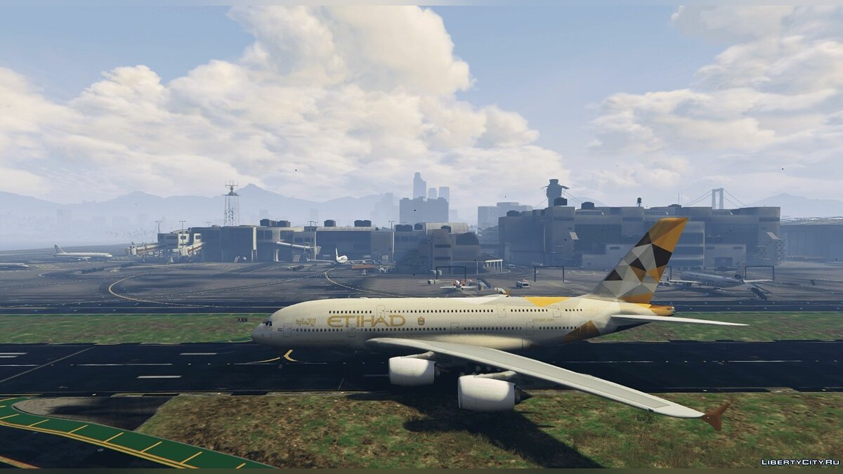 Airbus A380-800 [Add-On] для GTA 5