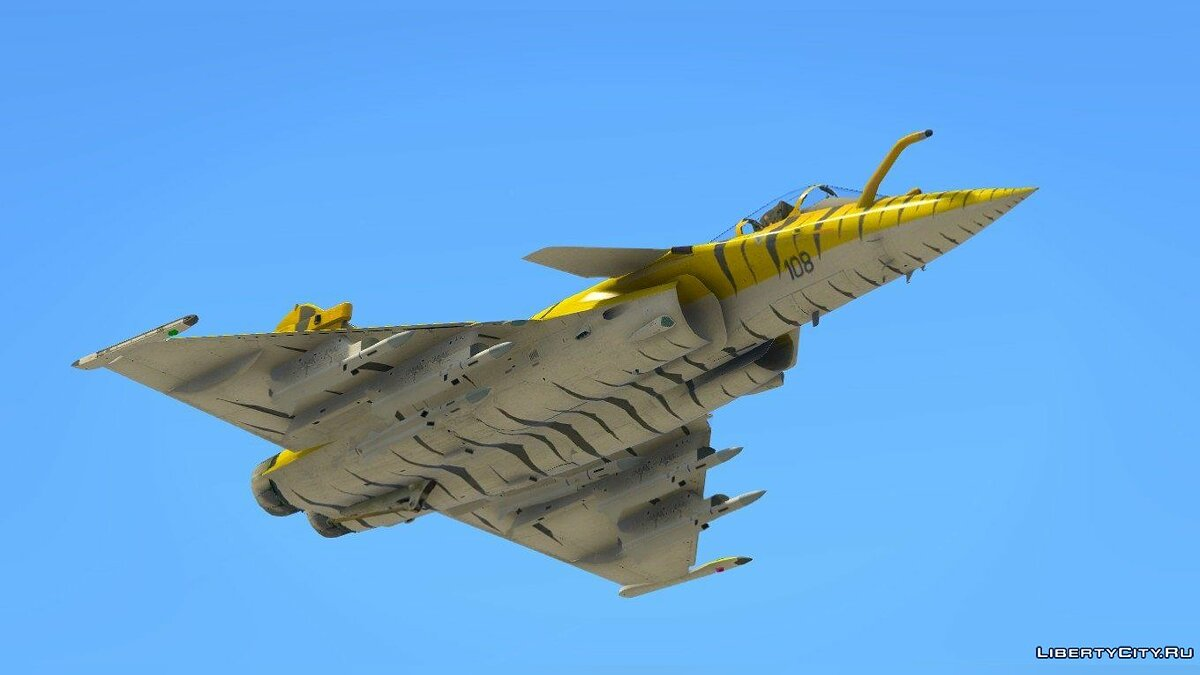 Dassault Rafale M [Add-on] 1.0 для GTA 5