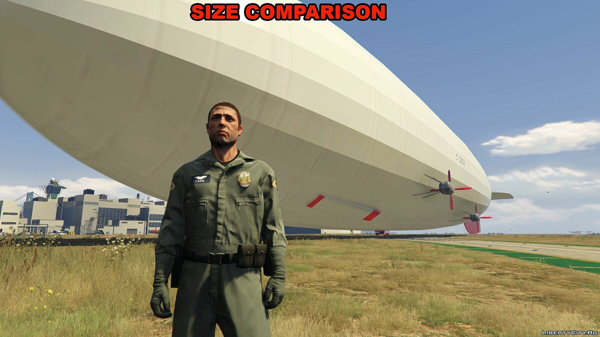Hindenburg Airship [Add-On / Replace] 1.0 для GTA 5 - скриншот #2