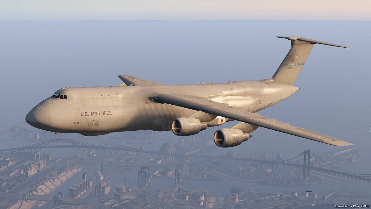 C-5M Super Galaxy [Add-On] для GTA 5 - скриншот #2