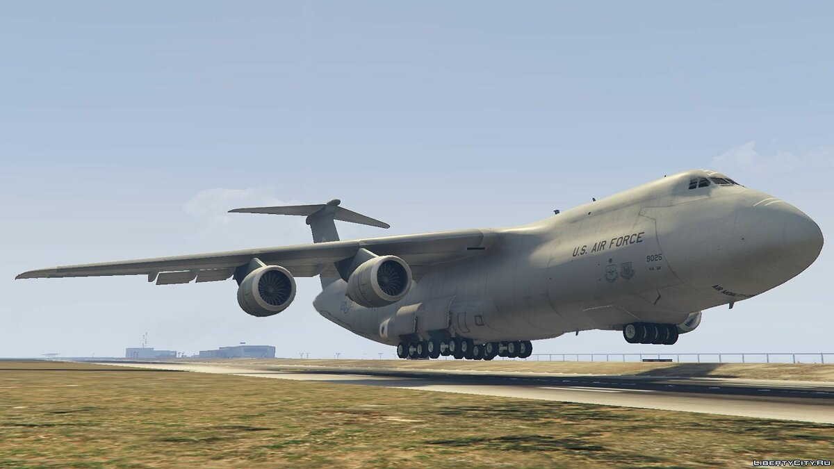 C-5M Super Galaxy [Add-On] для GTA 5