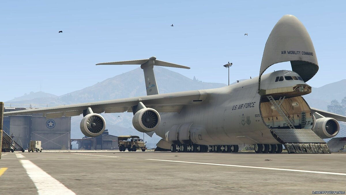 C-5M Super Galaxy [Add-On] для GTA 5 - скриншот #4