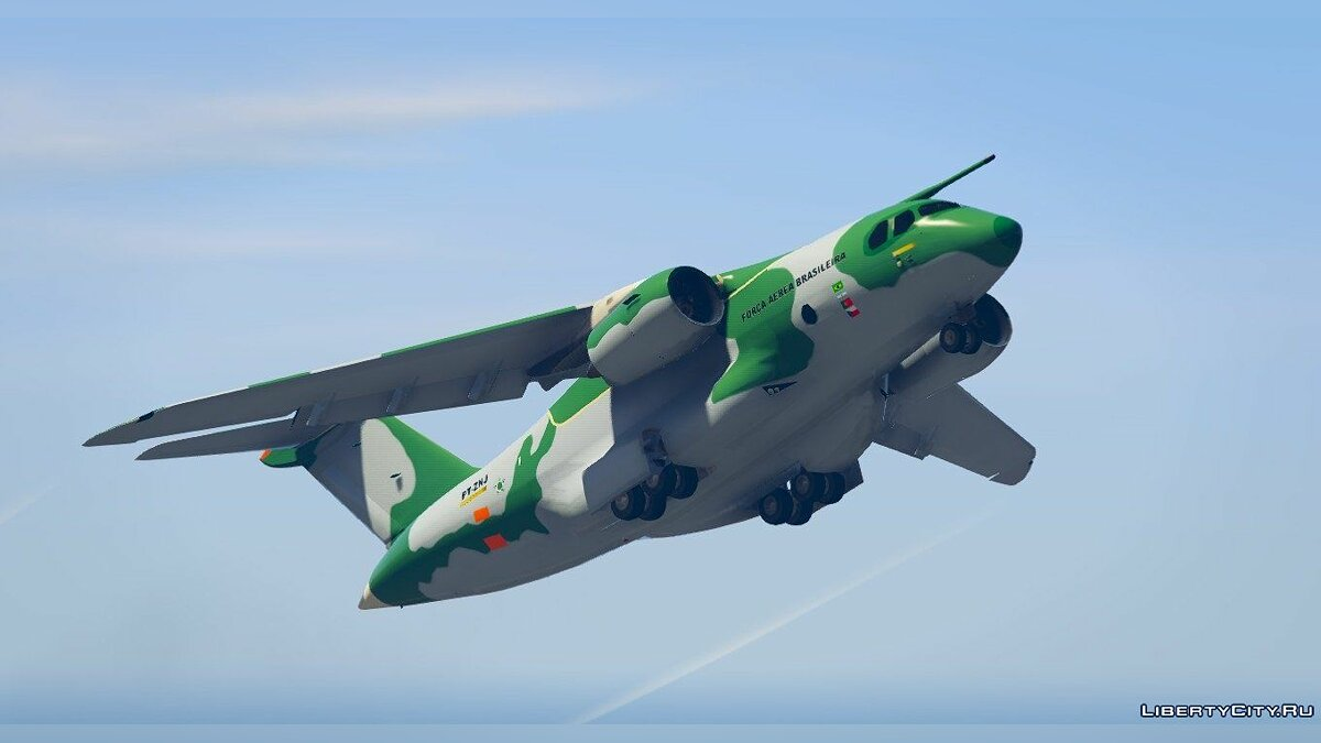 Embraer KC-390 Prototype [Replace] для GTA 5