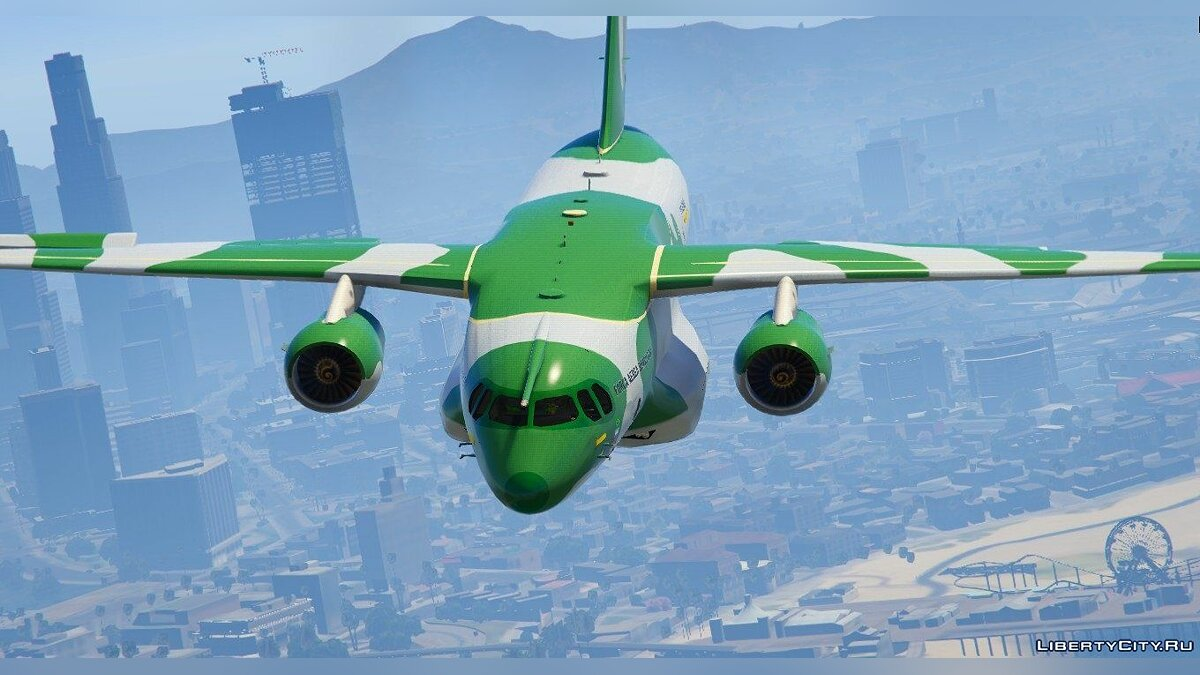 Embraer KC-390 Prototype [Replace] для GTA 5 - скриншот #2