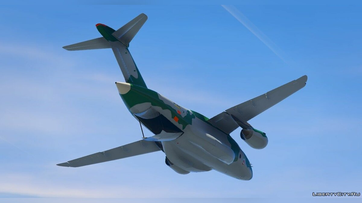 Embraer KC-390 Prototype [Replace] для GTA 5 - скриншот #3