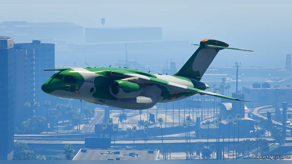 Embraer KC-390 Prototype [Replace] для GTA 5 - скриншот #5
