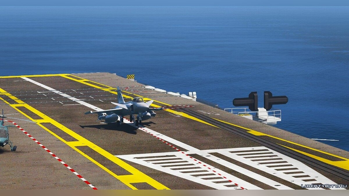 ��амолет и вертолет Gripen NG MB [Replace] 1.0 для GTA 5