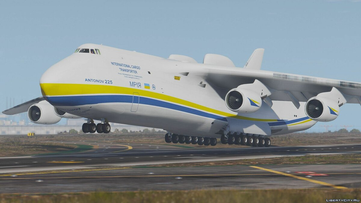 Antonov AN-225 Mriya (largest plane in the world) [Add-On] для GTA 5 - скриншот #3