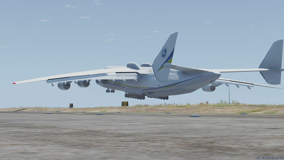 Antonov AN-225 Mriya (largest plane in the world) [Add-On] для GTA 5 - скриншот #5