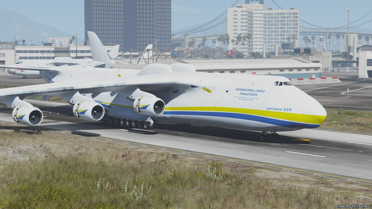 Antonov AN-225 Mriya (largest plane in the world) [Add-On] для GTA 5 - скриншот #7