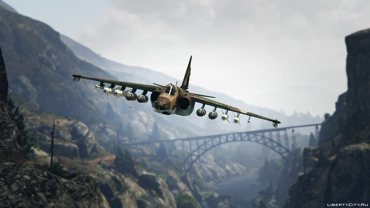 Su-25 [Add-On/Replace] v1.1 для GTA 5