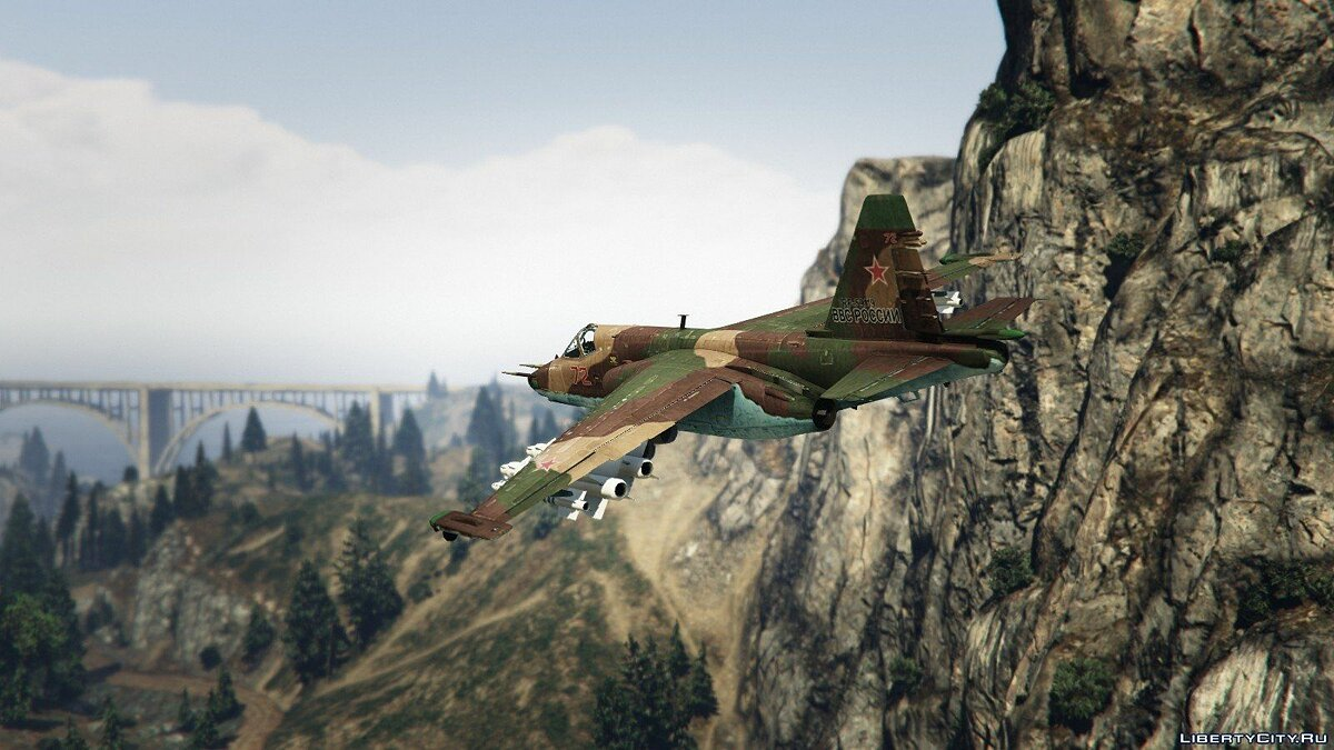 Su-25 [Add-On/Replace] v1.1 для GTA 5 - скриншот #2