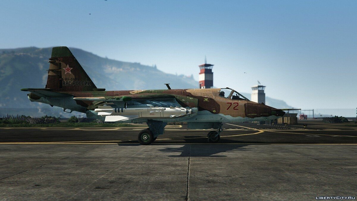 Su-25 [Add-On/Replace] v1.1 для GTA 5 - скриншот #3